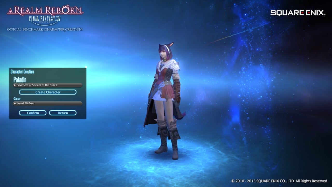 Benchmark Character Creations | FFXIV ARR Forum - Final Fantasy XIV