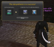 Desynthesis Leveling Guide